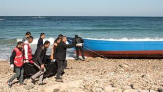 Depuis la chute de Mouammar Kadhafi, la Libye est devenu un carrefour de l'immigration clandestine vers l'Europe.