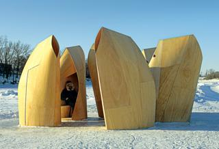 'Skating Shelters' by Patkau Architects - Canada