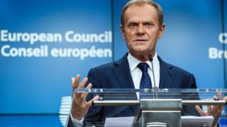 European Council President Donald Tusk, Oct 2017