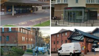 North Manchester General Hospital, Royal Oldham Hospital, Fairfield (Bury)and Rochdale Infirmary hospitals