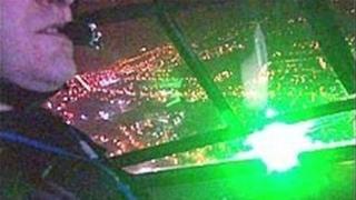 Laser in cockpit