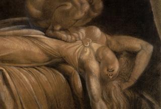 The Nightmare, Henry Fuseli, 1781 (detail)