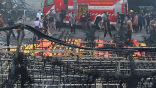 Tangerang, kebakaran