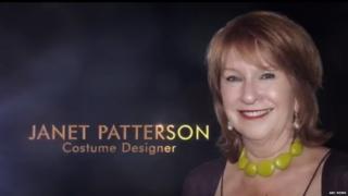 Captura de pantalla con la foto de la productora de Jan Chapman pero con el nombre de Janet Patterson.