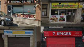 Four businesses