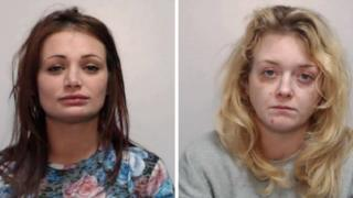 Amy Squires and Megan Stafford