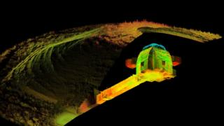 3D scan of Maeshowe, Orkney