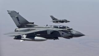 RAF Tornado GR4s