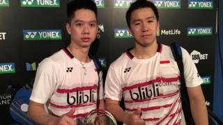 Di perempat final, Kevin/Marcus berhadapan dengan unggulan keempat dari Cina, Chai Biao/Hong Wei.