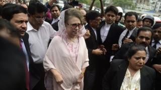 খালেদা জিয়া, আদালত