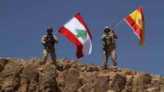 جنود في الجيش اللبناني