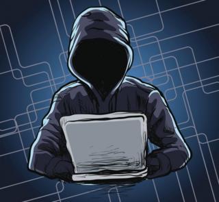 Hacker illustration