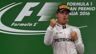 Rosberg wins in Monza
