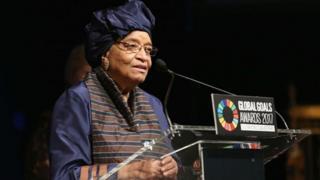 Mme Sirleaf a appelé les électeurs à voter de manière paisible.