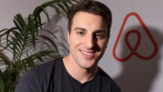Airbnb chief executive, Brian Chesky