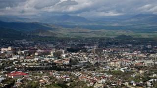 Город Степанакерт в Азербайджане именуется Ханкенди