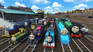 Thomas the Tank Engine: The Great Race