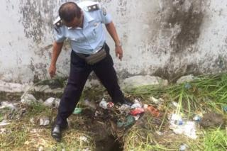 The four men escaped by digging a tunnel from the prison clinic to an outside wall.