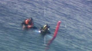 Hernán Rodríguez y Jorge Morales rescatados