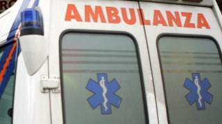 Итальянская машина скорой помощи