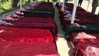 منابع محلی اعلام کردند که دستکم ۷۰ سرباز در این حمله کشته و دستکم ۸۰ نفر دیگر زخمی شدند