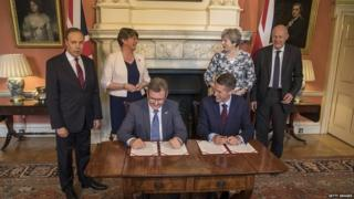 Tory-DUP deal signed