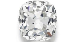 19世紀にカットされたダイヤモンドだとみられている