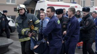 Теракт в петербурге, сцена