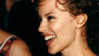 Kylie Minogue at the EIFF in 2000 when she starred in the Australian comedy horror film Cut