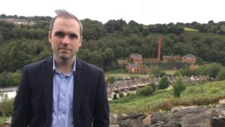 Steffan Lewis and Navigation colliery