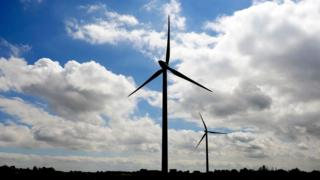 Wind turbines UK CO2 and energy costs 'set to rise' - BBC News UK CO2 and energy costs 'set to rise' - BBC News  96727611 mediaitem96720563