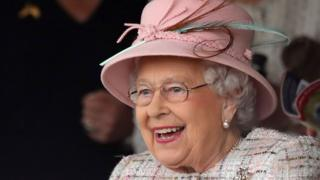 The Queen on 21 April, 2017