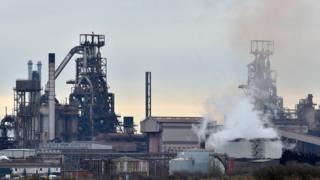 Tata Steel works in Port Talbot, South Wales