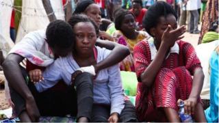 students after Garissa attack