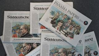The German Sueddeutsche Zeitung revealed the Panama Papers leak on 4 April 2016