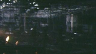 The remains of the Stardust nightclub after the fire in 1981