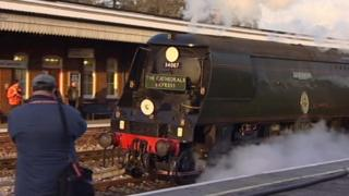 Tangmere locomotive