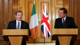 Irish Prime Minister Enda Kenny and British Prime Minister David Cameron met in London last week for talks that addressed the UK's referendum on EU membership and other issues