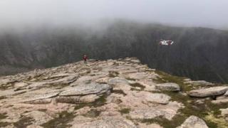 Shelterstone Crag rescue