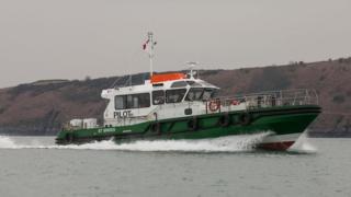 St Brides pilot boat