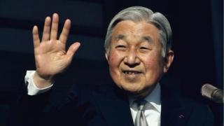 Akihito, Boqorka dalka Japan