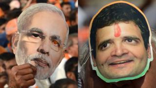 नरेंद्र मोदी, राहुल गांधी