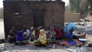 Des réfugiés nigérians qui fuient Boko Haram (illustration)