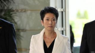 莲舫表示她的台湾籍已经正式放弃,以后只选择日本籍。(资料图片)