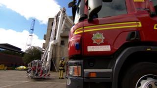 Humberside fire engine