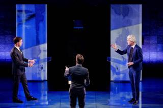 Başbakan Mark Rutte ile aşırı sağcı Özgürlük Partisi (PVV) lideri Geert Wilders