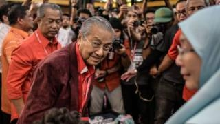 Mahathir Mohamad, Wan Azizah Ismail, Malaysia, Pakatan Harapan