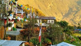 尼泊尔村庄(图片来源:Amrit Sharma)