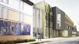 Leeds College of Art artist's impression
