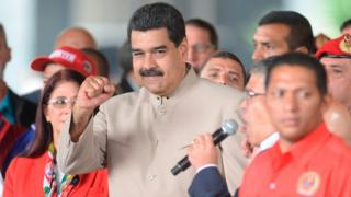 El presidente anunció la convocatoria de una Asamblea Nacional Constituyente el lunes.